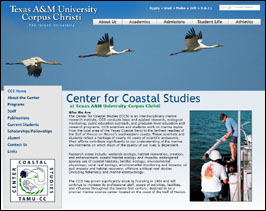 Center for Coastal Studies web redesign