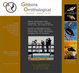 Gibbons Ornithological website