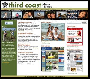 Third Coast Photo & Web website