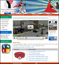 YMCA of the Coastal Bend website