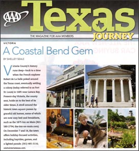 Texas Journeys Magazine - Victoria Day Trip Photos