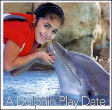 TEXAS JOURNEYS MAGAZINE - A Dolphin Play Date