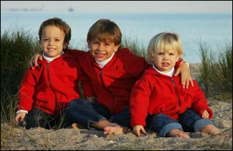 Kids Christmas Card Photos